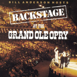Bill Anderson Hosts Backstage At The Grand Ole Opry