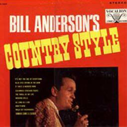 Bill Anderson's Country Style (Vocalion label)