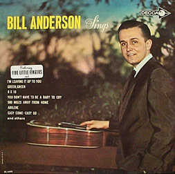 Bill Anderson Sings