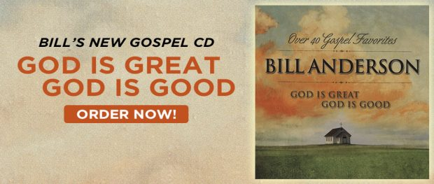 ORDER BILL'S NEW GOSPEL ALBUM NOW!