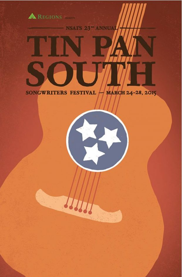 BILL TO PERFORM AT NSAI'S TIN PAN SOUTH SONGWRITER'S FESTIVAL