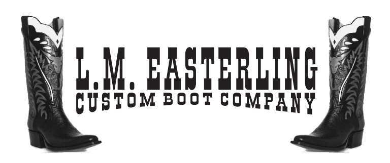 Bill Anderson wears Easterling Custom Boots exclusively. (Click the logo above for more info.)