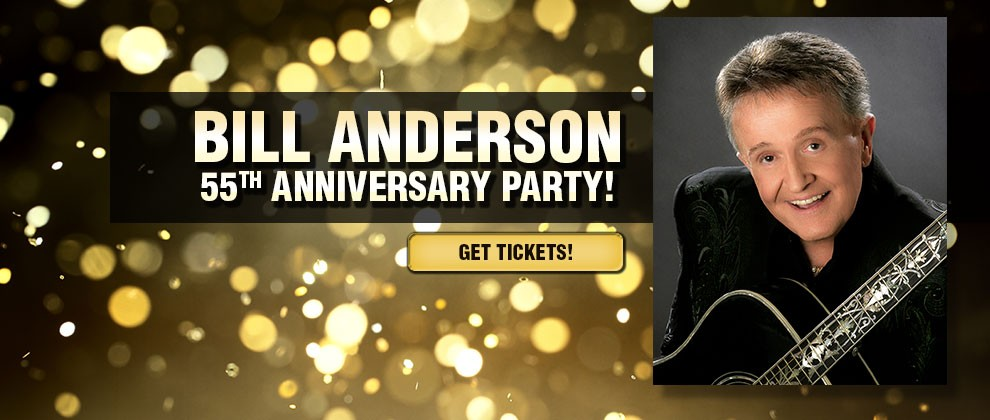 Bill Anderson 55th Opry Anniversary Party