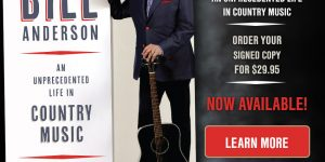 Bill Anderson and His New Book Get a Pickup…