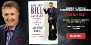 Whisperin' Bill Anderson Discusses His 'Unprecedented Life' in Country Music with the Tennessean Music Podcast