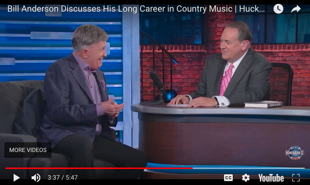 Bill Talks with Huckabee about His Career and New Book