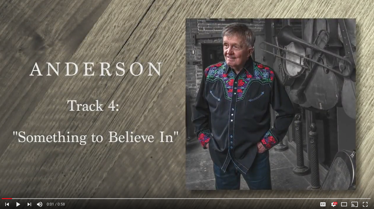 """Cut By Cut Track 4 from ANDERSON """"Something To Believe In"""""""